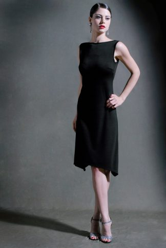 Valentine Tango Dress Black