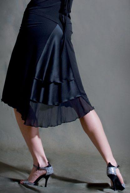 Jupe Tango Chique Noir