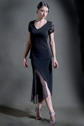 Tango Skirt Nostalgias Black