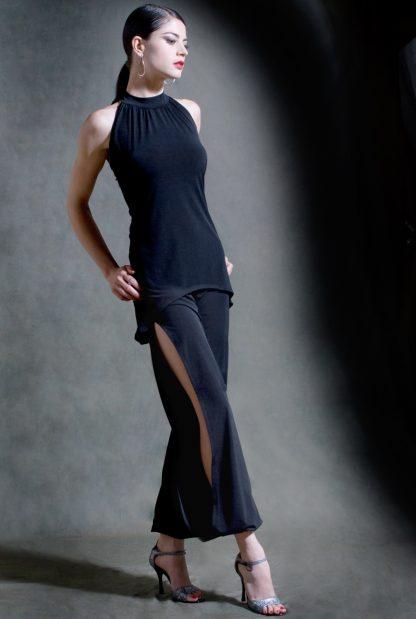 Pantalone tango Babuchas lunghi neri