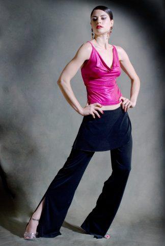 Pantalons de Tango Caminito Noir
