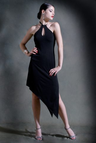Gancho Tango Dress Black