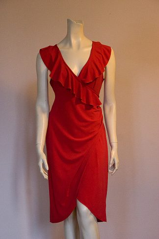 Desde l'Alma tango dress red