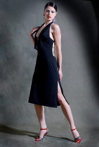 Barrida Tango Dress Black