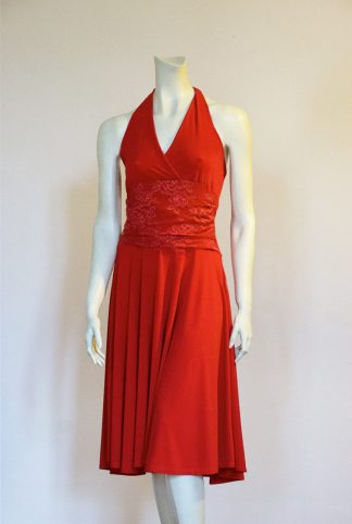 Marylin Tango Dress Red