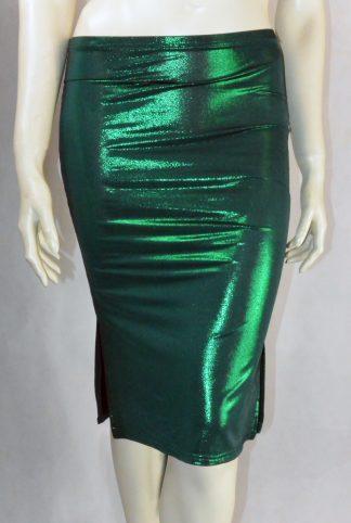 Jupe de Tango Mirada Vert brillant