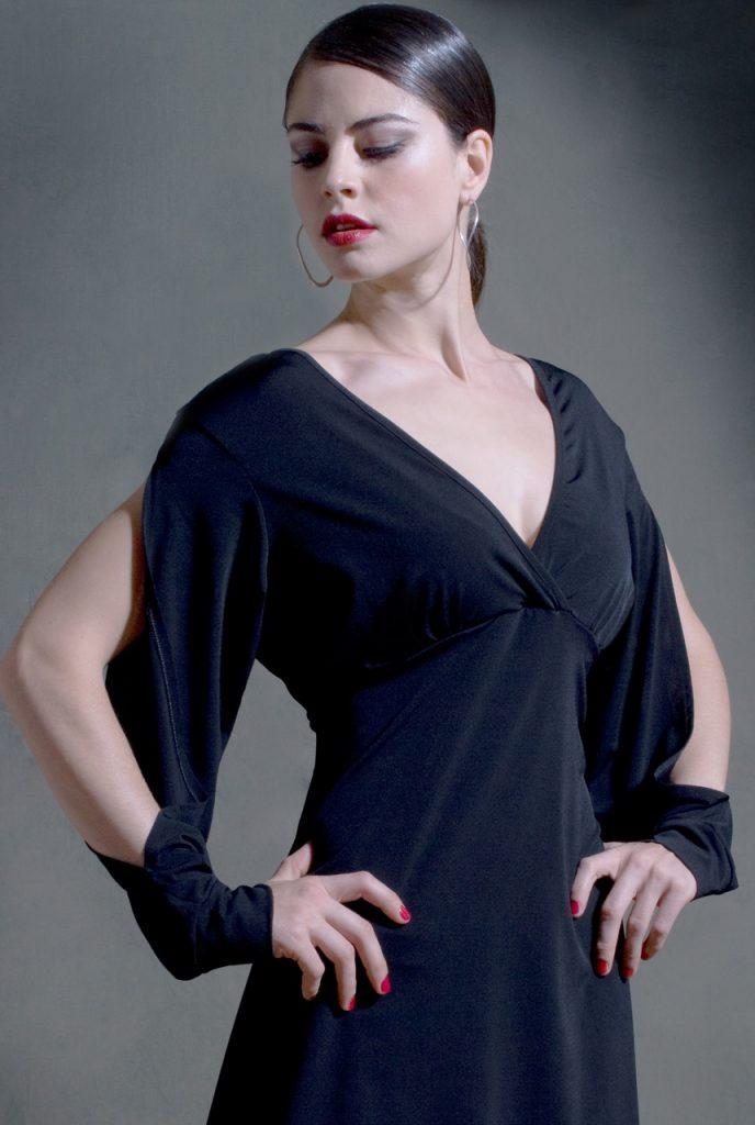 Galleguita Tango Dress Black