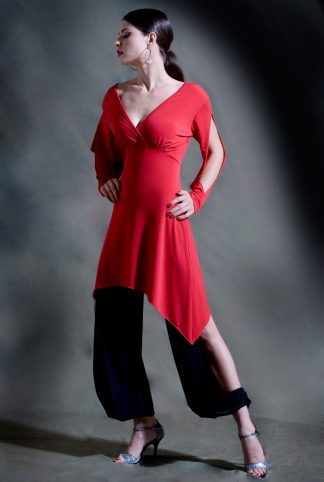 Galleguita Tango Dress Red