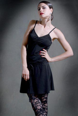 Robe de Tango Pivot Noir