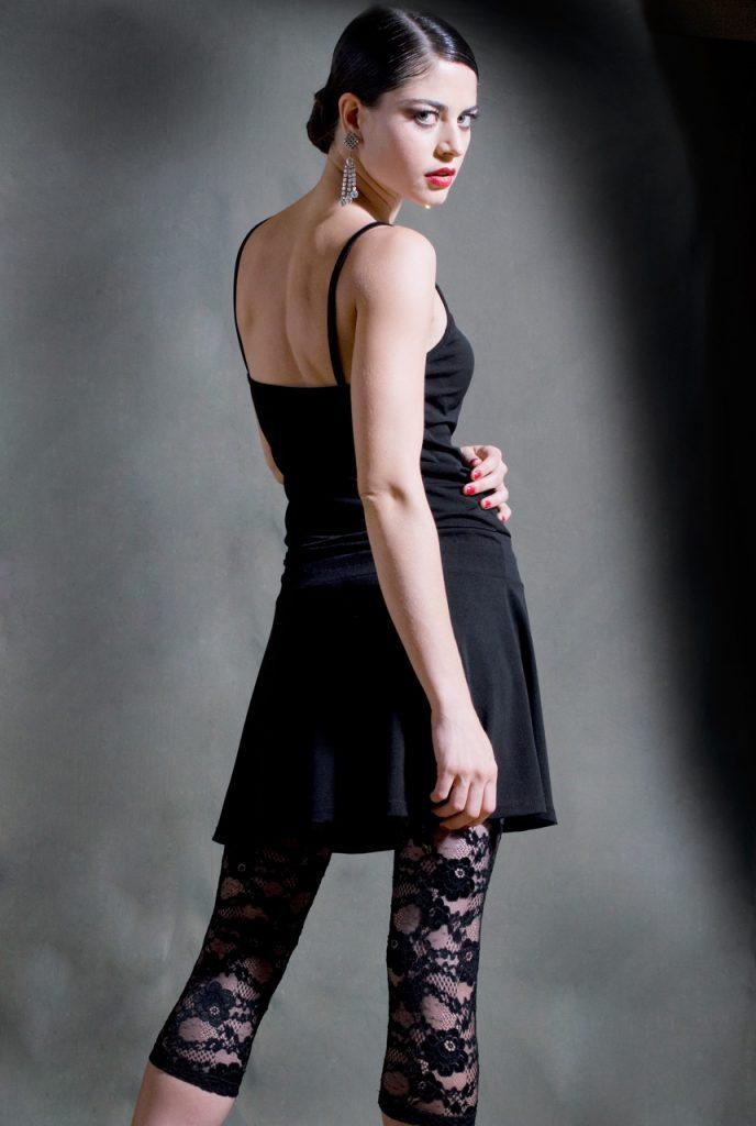 Abito tango Pivot nero