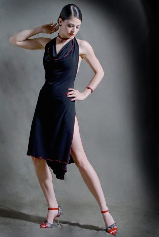 La Mordida Tango Dress Black