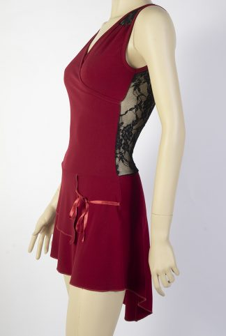 Mini Tango dress Calesita red