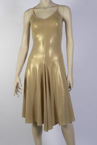 Robe de tango Basica or brillant