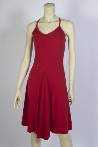 Basica red tango dress