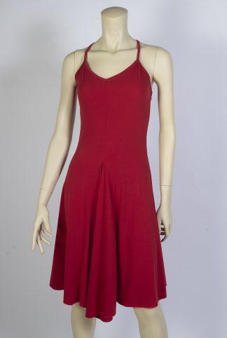 Robe de tango Basica rouge