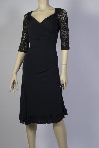 Comme il Faut black tango dress
