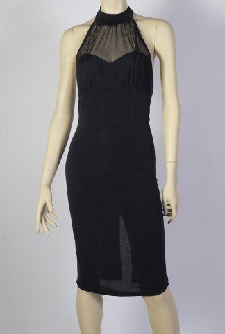 Robe de Tango Hasta Siempre Amor noir + tulle