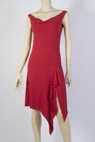 Ivette red tango dress