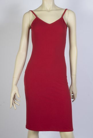 Jalousie red tango dress