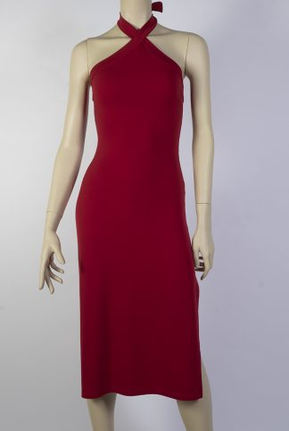 Pipistrela tango dress red