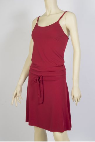 Robe de tango Pivot rouge