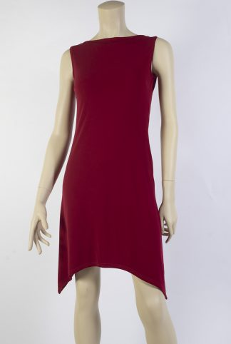 Valentine red tango dress short