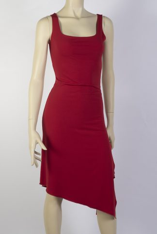 Audrey red tube tango dress