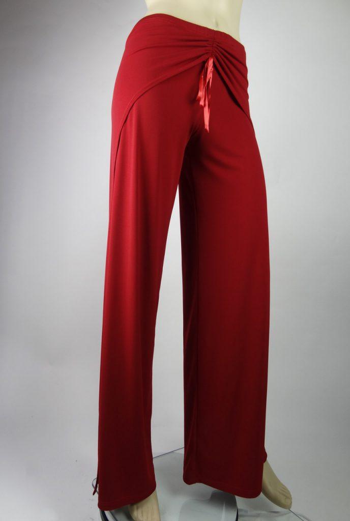Pantalons de tango Freddy rouge