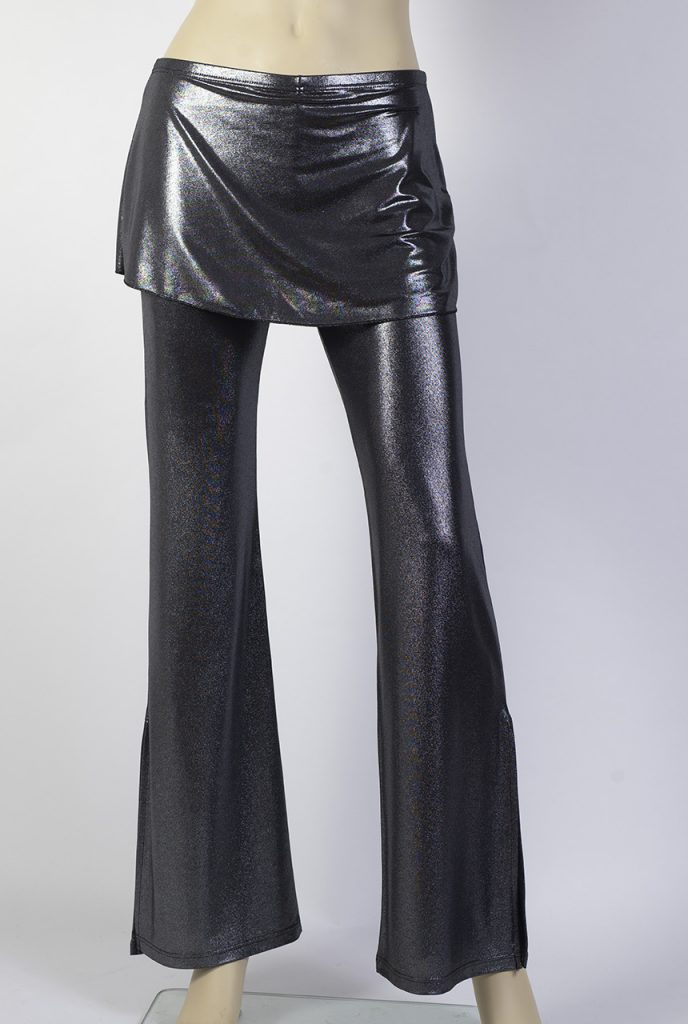 Pantalone tango Caminito argento lucido