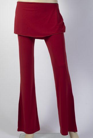 Pantalons de tango Caminito rouge