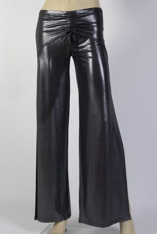 Pantalons de tango Freddy argent brillant