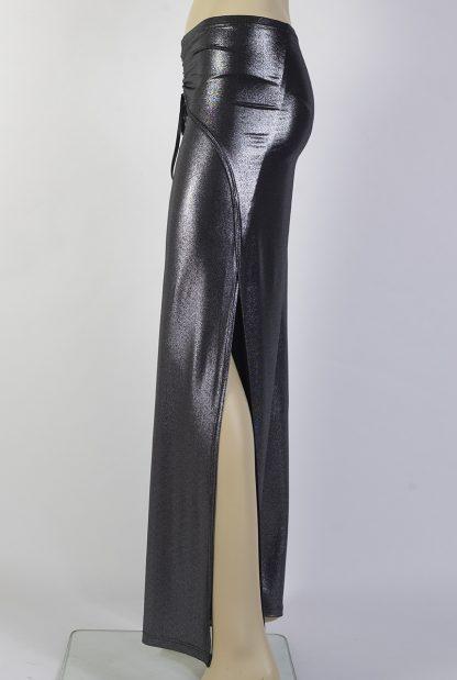 Pantalone tango Freddy argento lucido