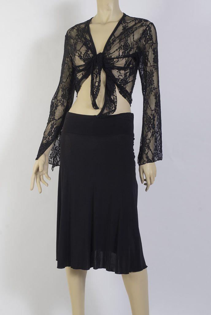 Accessoire de Tango Petite veste noué sur le devant
