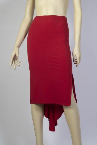 Jupe de tango Mirada rouge