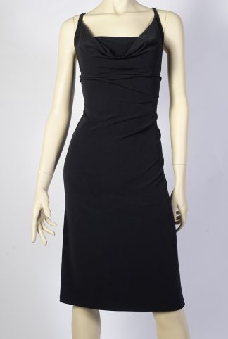 Poema black tango dress