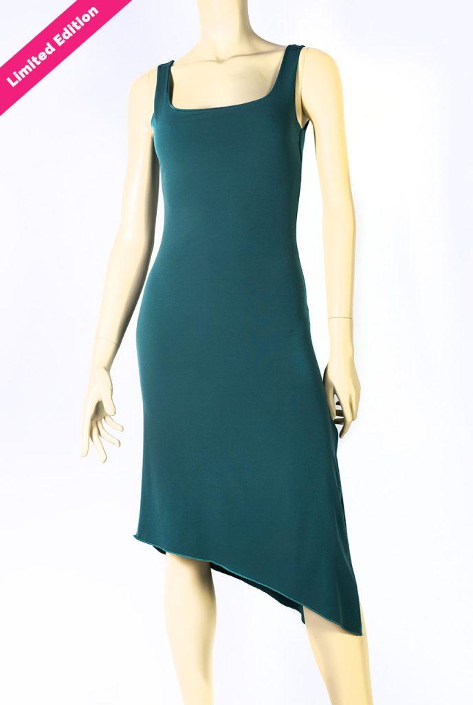 Abito tango tubino Audrey verde Limited Edition