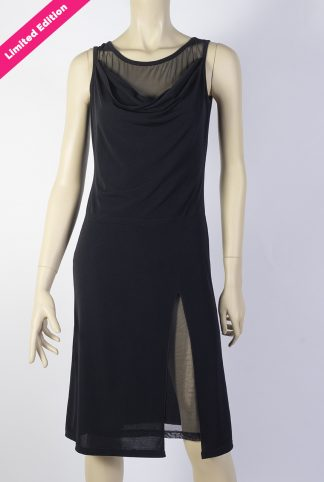 Cabeceo black tango dress + tulle Limited Edition
