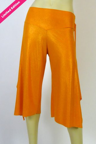 Pantalons de tango Sentimiento Gaucho orange brillant Limited Edition