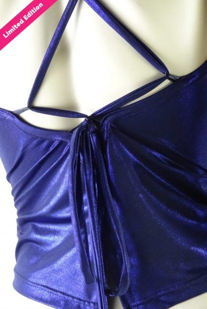 Top tango Cruzada Blu Lucido Limited Edition