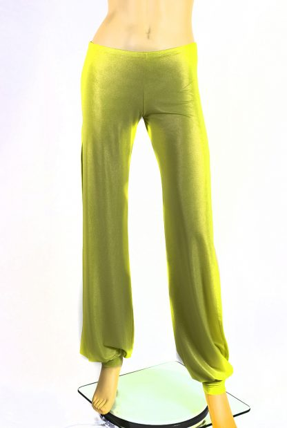 Babuchas verde limone lucido