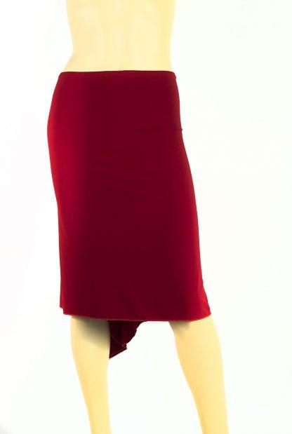 Tango skirt Pabellón de las Rosas red