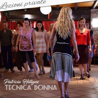 Patricia Hilliges - Tecnica donna e body work - Lezioni private
