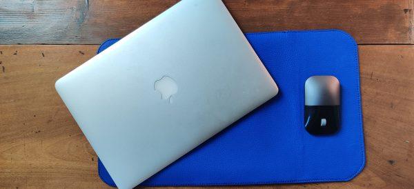 Custodia Laptop blu